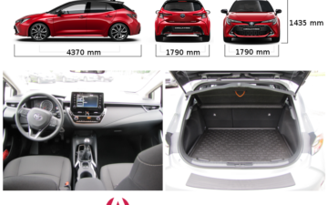 Broneeri Toyota Corolla 5D (2019) Man