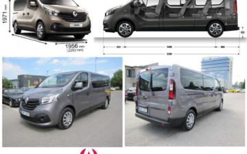 Rent Renault Trafic Long